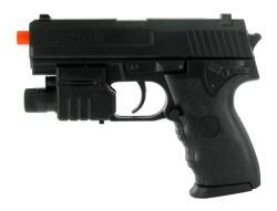 Spring Mini USP Pistol FPS-150 Laser and Flashlight Airsoft Gun - Thumbnail 1