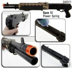 Spring SPAS FPS-200 Pistol Grip Airsoft Shotgun - Thumbnail 1
