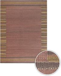 Hand-woven Mandara Red Rug (5' x 7'6) - Thumbnail 1