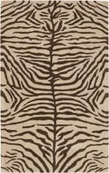 Hand-tufted Mandara Animal Print Wool Astel Rug (8' x 10')