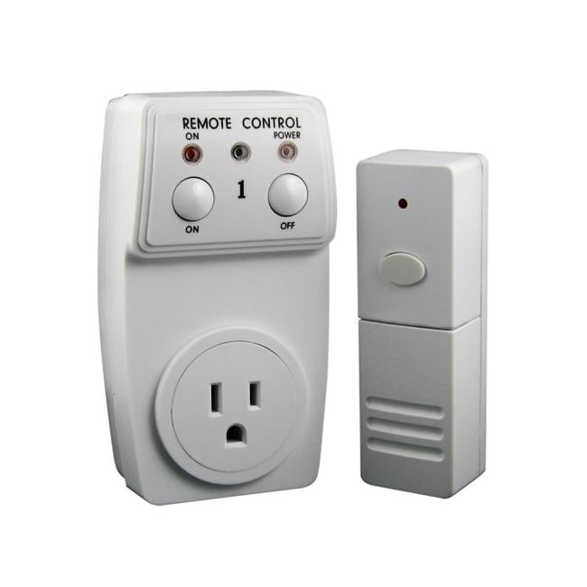 eforcity super switch wireless remote control outlet free shipping on orders over 45. Black Bedroom Furniture Sets. Home Design Ideas
