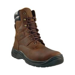 Men's Itasca Authority 8in Safety Toe Brown Crazy Horse Leather