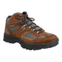 Men's Itasca Ridgeway II Waterproof Hiking Boot Brown Leather/Grey Mesh