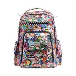 Ju-Ju-Be Be Right Back Backpack Diaper Bag Sushi Cars