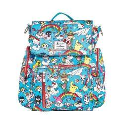 Ju-Ju-Be Be Sporty Backpack Diaper Bag Rainbow Dreams