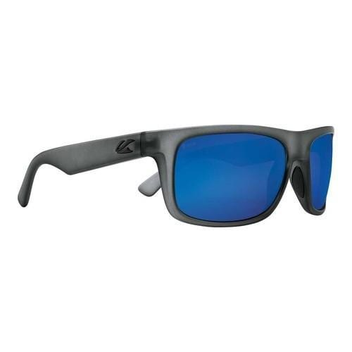d96c83fb0d3 Shop Kaenon Burnet Mid Polarized Sunglasses Carbon Matte Grip Ultra Pacific  Blue Mirror - Free Shipping Today - Overstock.com - 22205680
