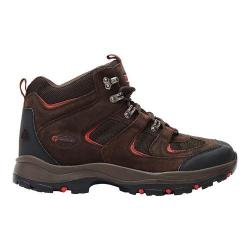 Men's Nevados Boomerang II Mid Hiking Boot Chocolate Chip/Ginger Red Suede