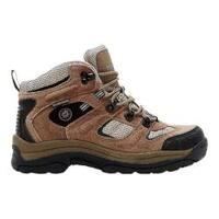 Women's Nevados Klondike Waterproof Mid Hiking Boot Chocolate Chip/Stone/Hyacinth Suede