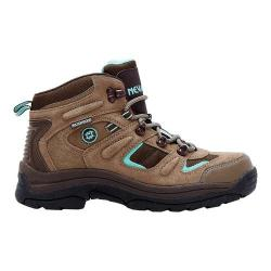 Women's Nevados Klondike Waterproof Mid Hiking Boot Shitake Brown/Dark Chestnut/Vivid Suede