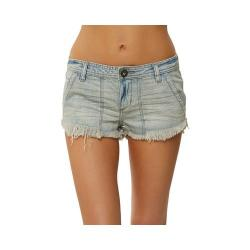 Women's O'Neill Baja Days Denim Short Light Blue Summer Wash