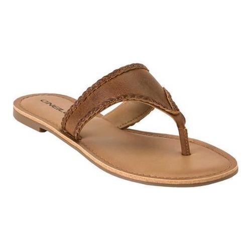 722167d6a63 Women's O'Neill Dahlia Thong Sandal Cognac