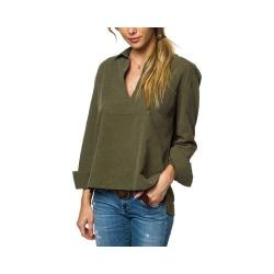 Women's O'Neill Court Blouse Military Olive (2 options available)