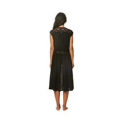 46c366bb07a Shop Women's O'Neill Lillian Maxi Wrap Cover-Up Black - Free Shipping Today  - Overstock - 22206549