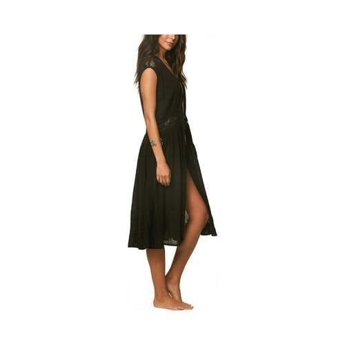 d4d54823d Shop Women's O'Neill Lillian Maxi Wrap Cover-Up Black - Free Shipping Today  - Overstock - 22206549