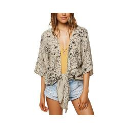 Women's O'Neill Patterson Floral Top Natural (2 options available)