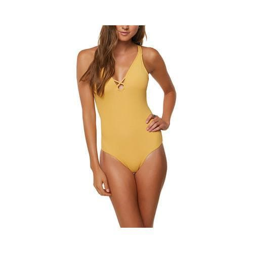 f928cd9d10c54 Women s O Neill Salt Water Solids One Piece Bathing Suit Daisy - Free  Shipping Today - Overstock - 27863371