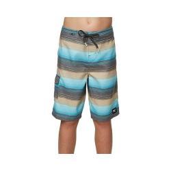 Boys' O'Neill Santa Cruz Ultrasuede Stripe Short - Big Kids Ocean