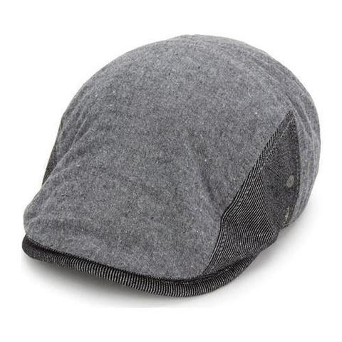 7d8e2ae758e08 Men s Original Penguin Chambray Driving Cap Black