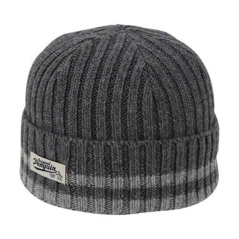 28e51ad020ebd Men s Original Penguin Chunky Knit Watchcap Dark Shadow