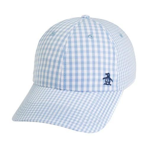 2b81d35f4ca Thumbnail Men's Original Penguin Gingham Mix Baseball Cap Turquoise ...