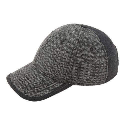 Shop Men s Original Penguin Herringbone Baseball Cap Grey - Free Shipping  On Orders Over  45 - Overstock.com - 22207288 876696f230b