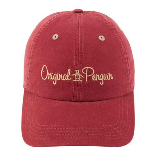 f01f8a2b828a6 Shop Men s Original Penguin Unstructured Dad Cap Pomegranate - Free Shipping  On Orders Over  45 - Overstock - 22207319