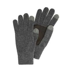 Men's Original Penguin Knit Gloves Charcoal Heather
