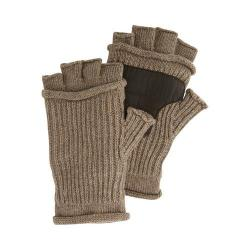 Men's Original Penguin Mixed Rib Fingerless Gloves Kelp