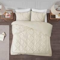 Madison Park Lafayette Tufted Duvet Cover Set 2-Color Option