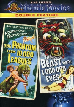 The Phantom From 10,000 Leagues/The Beast Within A Million Eyes (DVD)