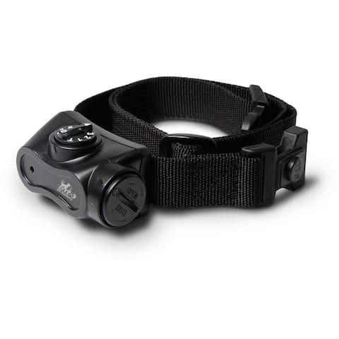 Petstores Bark Boss Nylon Dog Bark Control Training Collar - Black