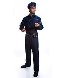 Adult Police Officer Costume Set