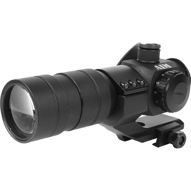 1.5 x 30 B Style Weaver Base Red Dot Sight