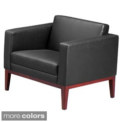 Mayline Prestige Leather Lounge Chair