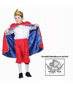 Deluxe King David Costume Set