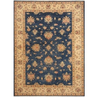 Handmade Oushak Wool Rug (Afghanistan) - 5'9 x 7'8