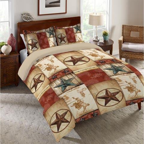 Rodeo Patch King Comforter
