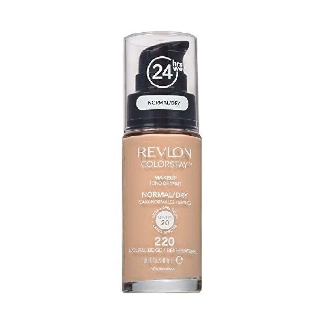 Revlon Colorstay Makeup Foundation For Normal To Dry Skin 220 Natural Beige Overstock 26031293 Pack Of 1