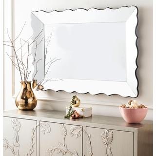 """Safavieh Dalia Silver 48 x 33-inch Rectangle Decorative Mirror - 48.4"""" x 2.4"""" x 32.7"""""""