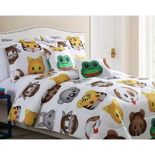 Spirit Linen Home Emoji Comforter Set (4-5 Piece)