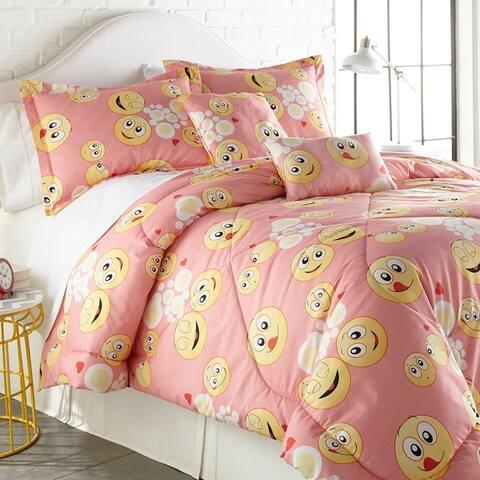Spirit Linen Home Emoji Comforter Set (4-5 Piece)