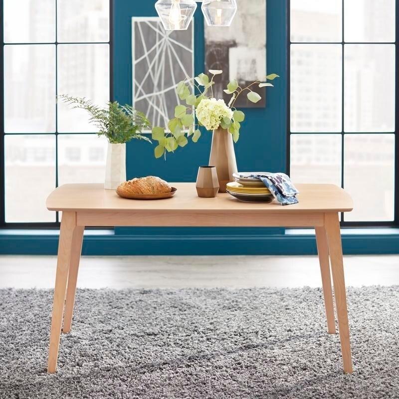 Terrific Simple Living Solid Beechwood Cadiz Dining Table Natural Frankydiablos Diy Chair Ideas Frankydiabloscom