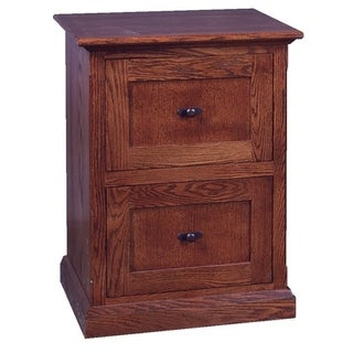 Mission Two Drawer File Cabinet 22W x 30H x 21D