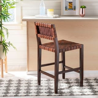 Brilliant Buy Leather Counter Bar Stools Online At Overstock Our Andrewgaddart Wooden Chair Designs For Living Room Andrewgaddartcom