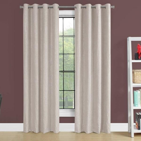84 Inch Room Darkening Curtain Panel