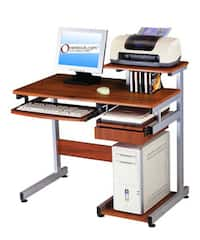 Ergonomically-designed Computer Workstation Desk