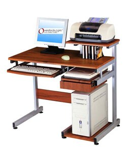 Ergonomically-designed Computer Workstation Desk