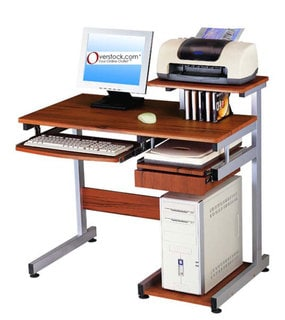 Shop Z Line Designs Cyrus Workstation Desk Overstock