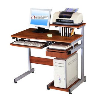 Shop Deluxe All In One Computer Desk Workstation Free