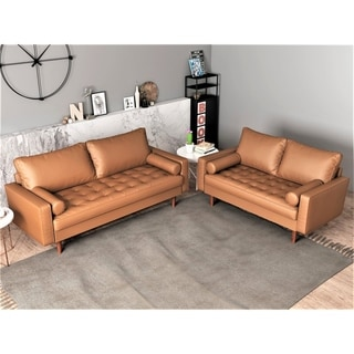 Link to US Pride Mid-century Modern Living Room Set Similar Items in Sofas & Couches